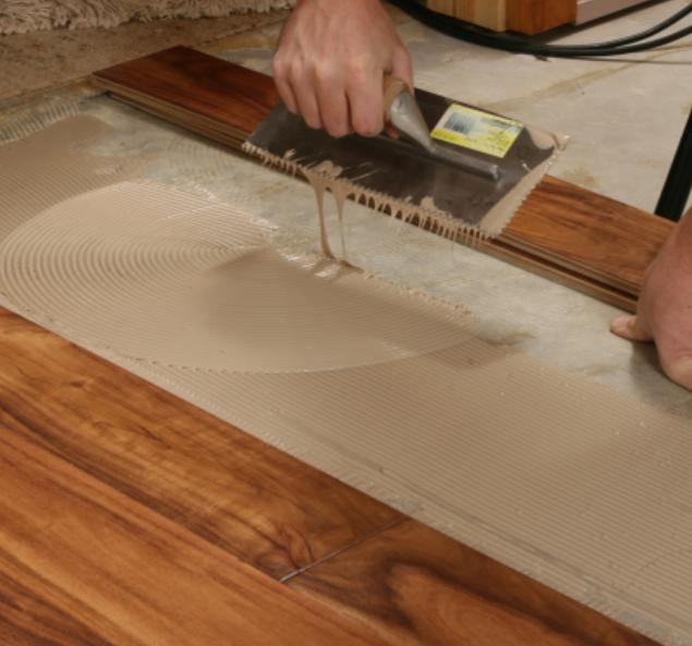 Self Leveling One Component Solvent Free Polyurethanepu Glue Wooden