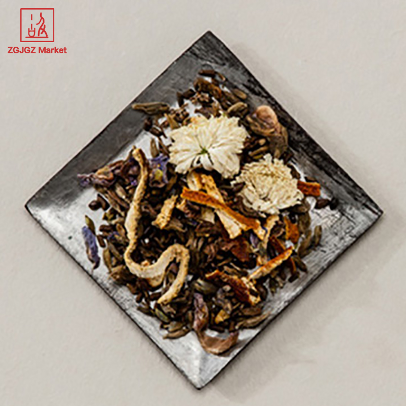 Herbal Organic Flowering Tea Bag Orange Peel Cassia Seed Chrysanthemum Flavored Tea