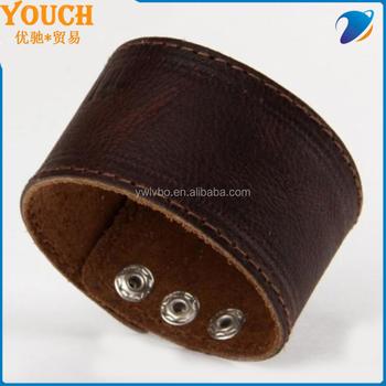 Vintage Leather Wrap Bracelet Whole Charm Blanks
