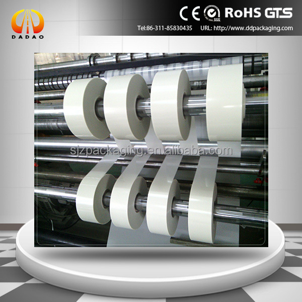 Semi transparent Polyester PET Mylar Film For Cable and Wire
