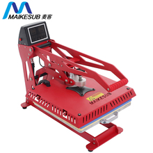 Maikesub flat 38*38 cm t-printing 기계 승화 Printer automatic 열 press machine, t shirt hot press machine