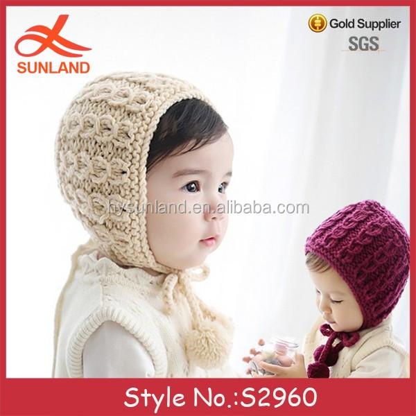 S2960 Nuevo 2017 Bebé Recién Nacido Sombreros Patrones Que Hacen ...