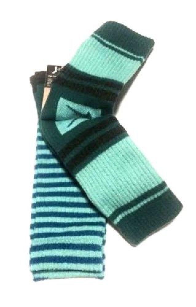 Nike 2 Pairs/Pack High Crew Socks, Youth, Green/Black/Blue, 3Y-5Y