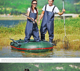 OEM China rubber chest fish waders and fishing PVC pants