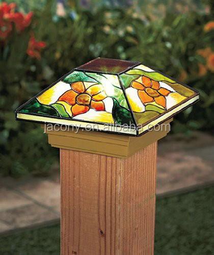 Tiffany Solar Fence Post Caps 4x4 Jl 6581 Buy Fence