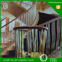 Allibaba Com 304 Grade Stainless Steel Handrail Design for Stairs Made in China