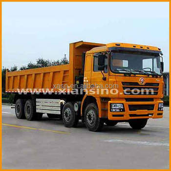 Shacman New Car Accessories Model In China Heavy Truck Dump Truck ...