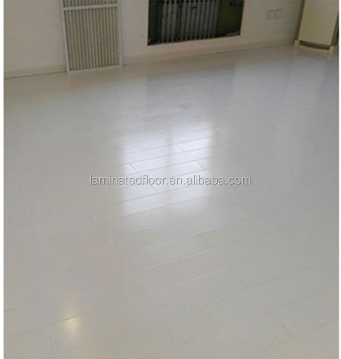 White Color 8mm 12mm Hdf Laminate Flooring