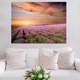 Customized Wall Picture Art Print on Canvas Flower Painting