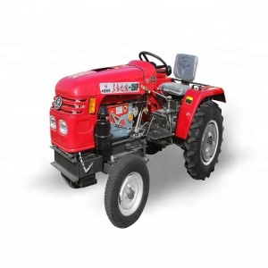 High Quality China Brand 42hp Two Wheel Drive Small Farm Tractor Three Point Mounted Implements