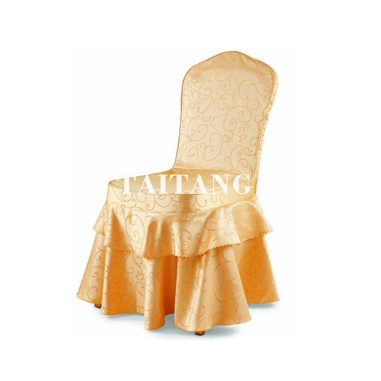 ราคาถูกร้านอาหารขายส่งหรูหราเร้าใจยืดโพลีเอสเตอร์แต่งงานครอบคลุมเก้าอี้