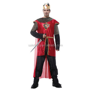 low price King arthur costume adult
