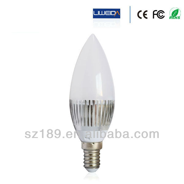 High Quality SMD5730 3000K/4000K/6000K 3W LED Wax Candle Lighting