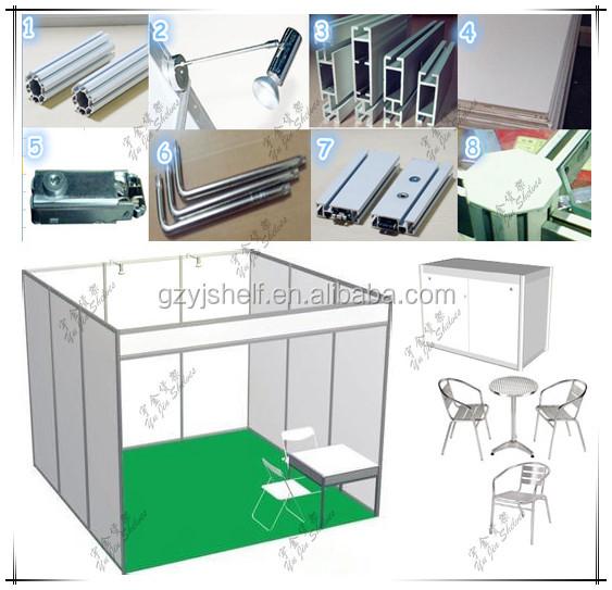 Aluminium Modular Exhibition Stands : Portable aluminium stall shell scheme exhibition event