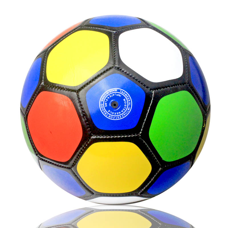Different Types Personalized Play Football Games size 3 colorful pvc soccer football ball for children