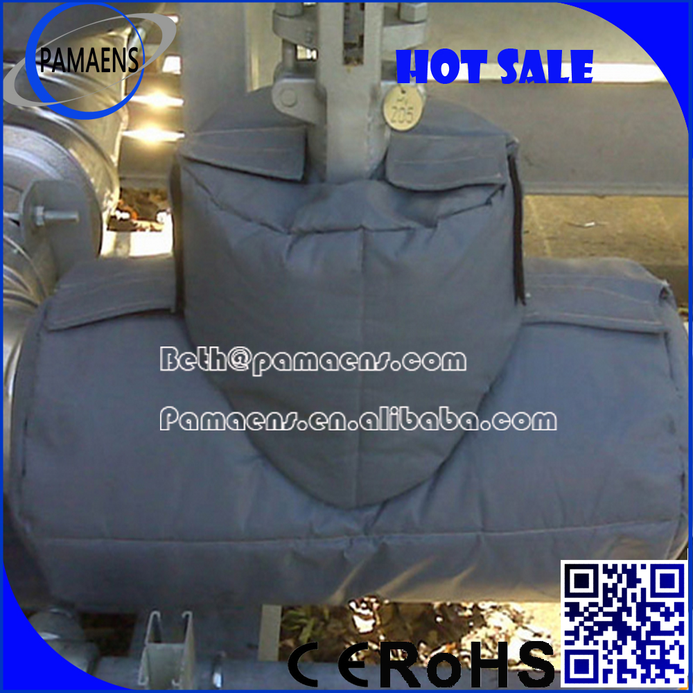 removable insulation blanket cover jackets for thermal and