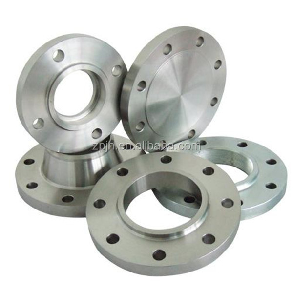Manufacturing stainless steel pipe flange for oil and gas
