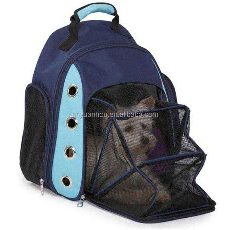 Pet Dog Cat Breathable Safety Carrier Space Backpack