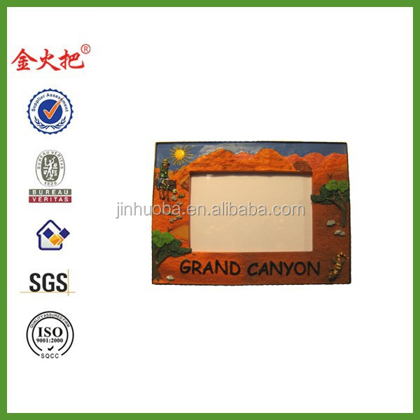Grand Canyon Painted Resin Photo Frame