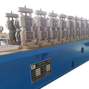 New technology servo motor aluminum pipe tube making machine