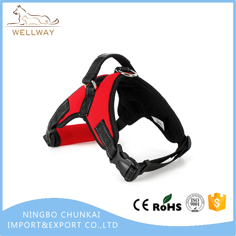 No Pull Dog Harness Soft & Comfortable Neoprene Padded Training Harness with Handle for Small Medium and Large Dogs