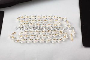 wholesale handmade chandelier crystal bead chain