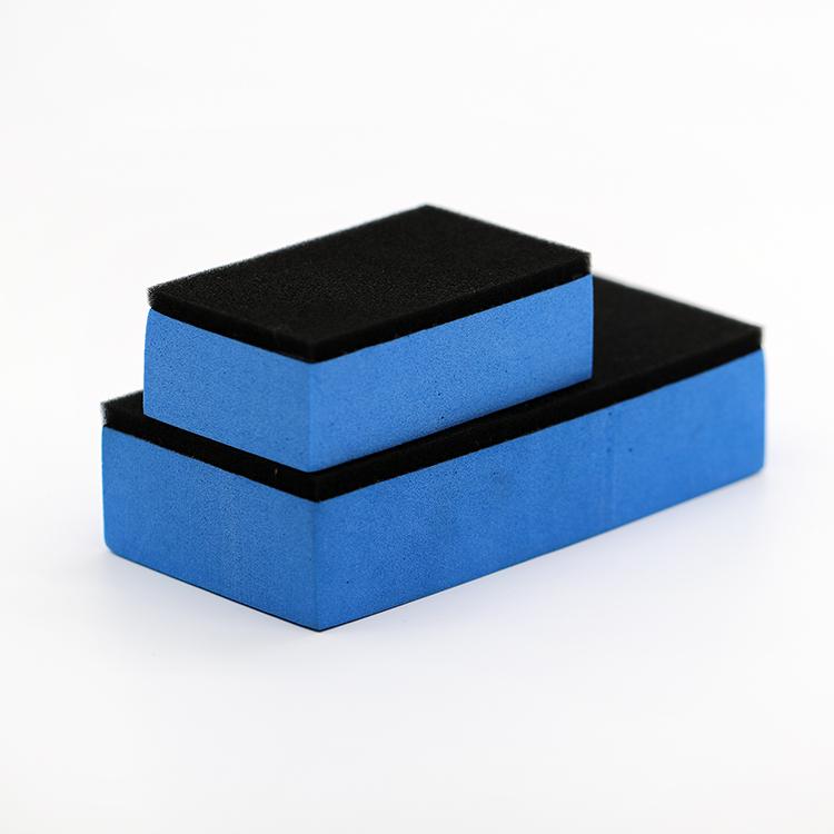 Personnalisé Voiture Soins 9H Nano Céramique Revêtement De Voiture Éponge de Revêtement De Verre De Voiture En Cristal Plaqué Épilation Applicatornano revêtement