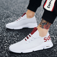 Latest model fashion trendy men running sport shoes men sneakers casual shoes