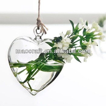 Hanging Glass Heart Vase Buy Hanging Glass Vaseshanging Terrarium