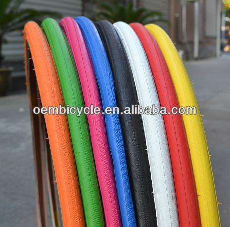 Colorful Kenda 700C Fixed Gear Bicycle Tire