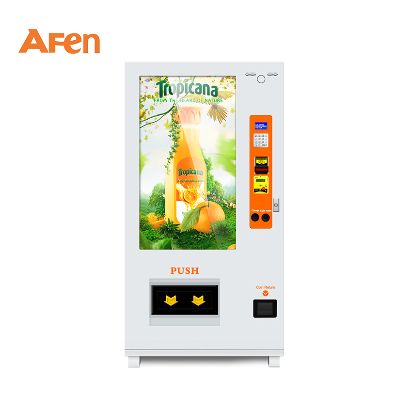 AFEN factory made touch screen custom vending machine for drinks