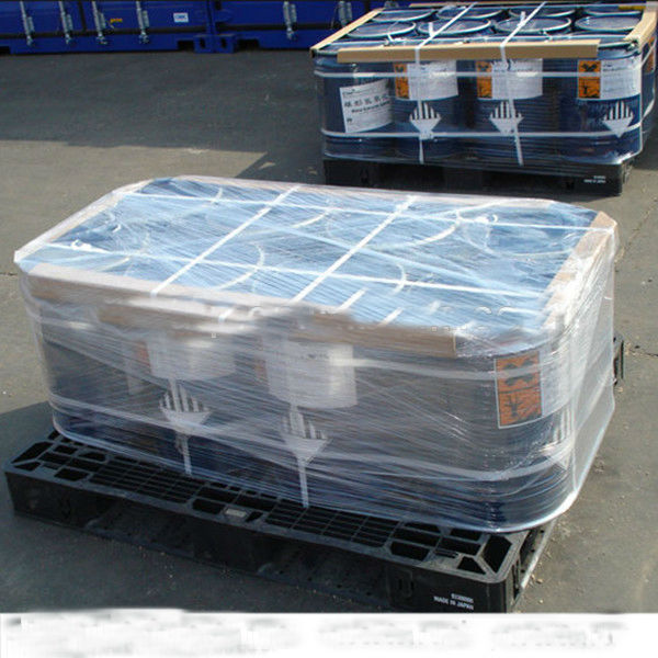 100-500% stretch Raito pe stretch& krimpfolie voor pallet of staal coil verpakking