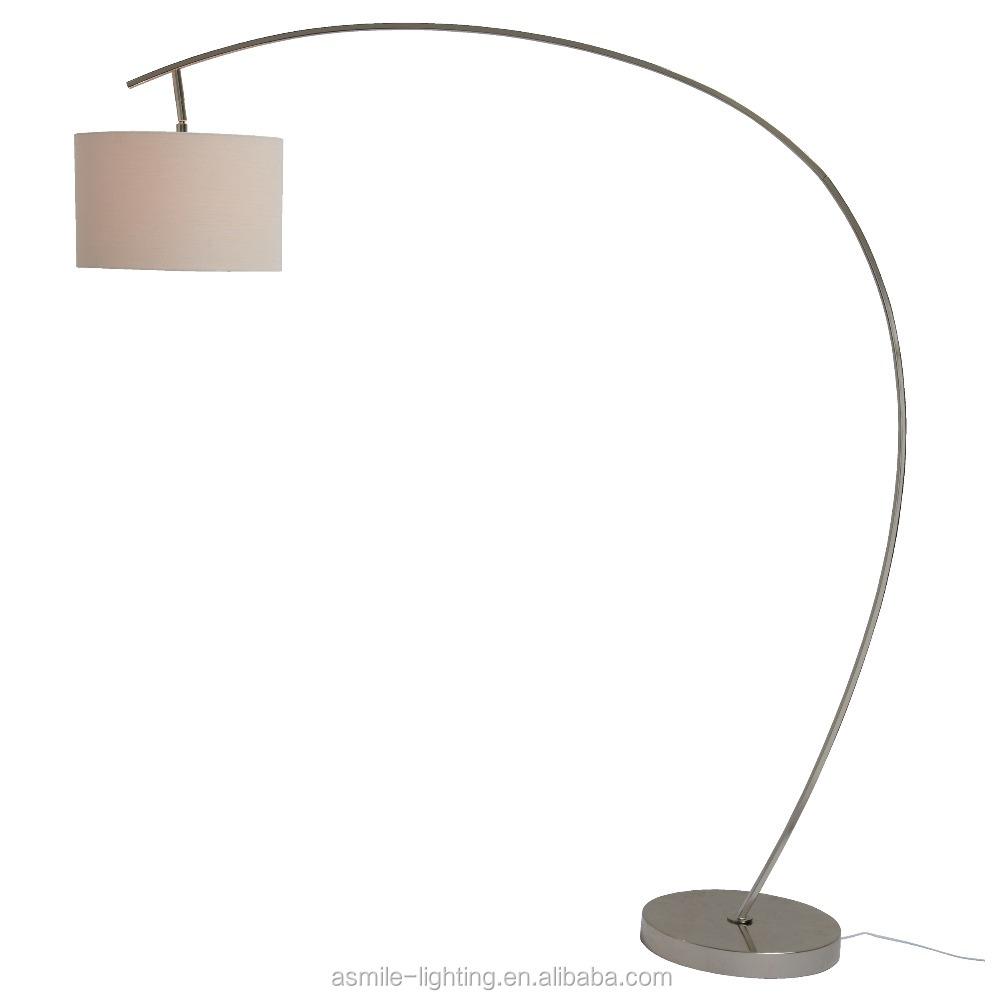 Modern Design Arc Floor Lamp Fish Floor Lamp Curved Floor Lamp ...