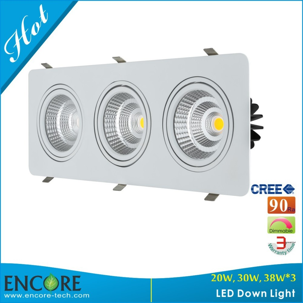 Cut-out 200x200 Rcm Led Downlighting 50w With Spotlight For ...