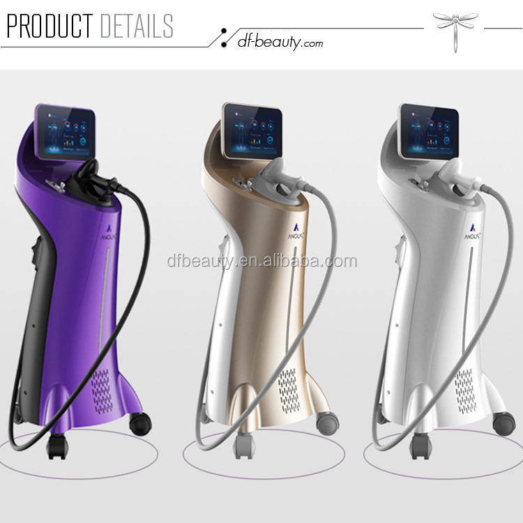 DFLASER Small Pretty Waist 720W Triple Wavelength 755nm 808nm 1064nm Diode Laser Hair Removal Machine