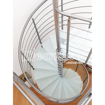 Mobile Home Glass Spiral Staircase - Buy Used Spiral Staircase,Glass Spiral  Staircase,Mobile Home Stairs Product on Alibaba com