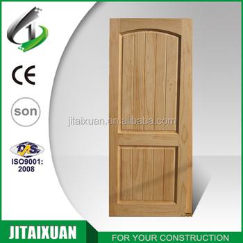 China Interior Pine Solid Wood Door