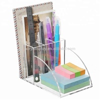 Handmade Clear Acrylic Desktop Office Desk Table Supplies Organizer