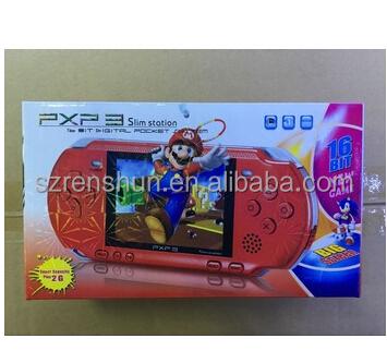 Tragbare 16 Bit Pxp3 Handheld Game Player Videospiel Konsole Mit Av Kabel Portable Spielkonsolen Unterhaltungselektronik 2 Spiel Karten Klassische Kind Spiele Pxp 3 Dünne Station