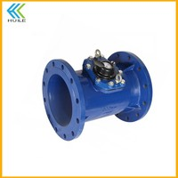 DN300mm velocity water flow meter types LXLC-300E