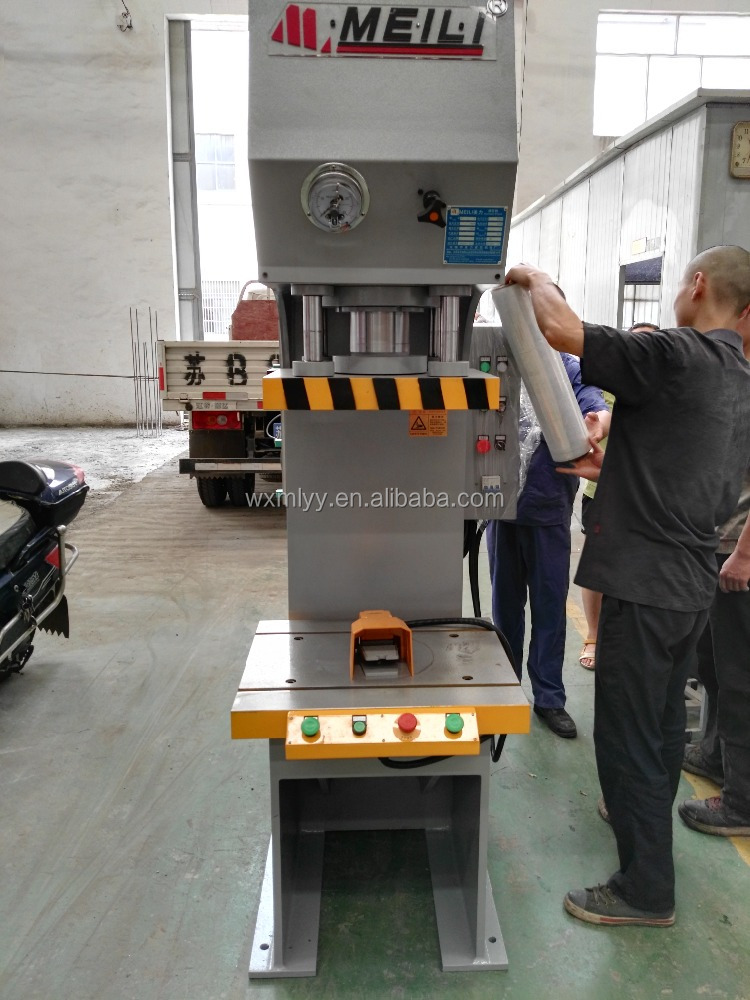 High Speed 350TON C Frame Press For Coins/Servo System