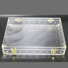 Transparent Plexiglass Mod Large Clear Trunk Clear Acrylic Treasure Chest