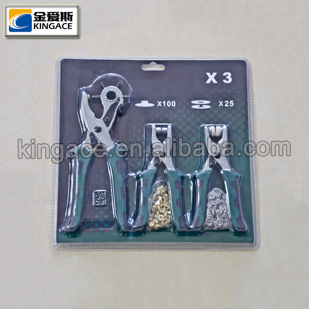 High Quality Brass Eyelets Plier with Decorative Eyelets