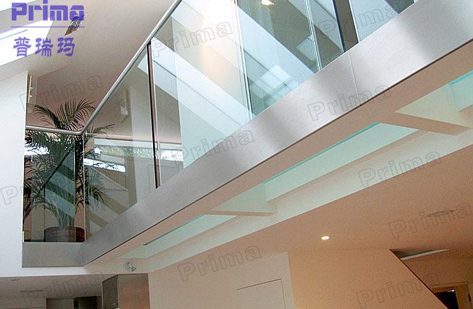 Modern nieuw ontwerp stalen interieur ijzer trapleuning balkon
