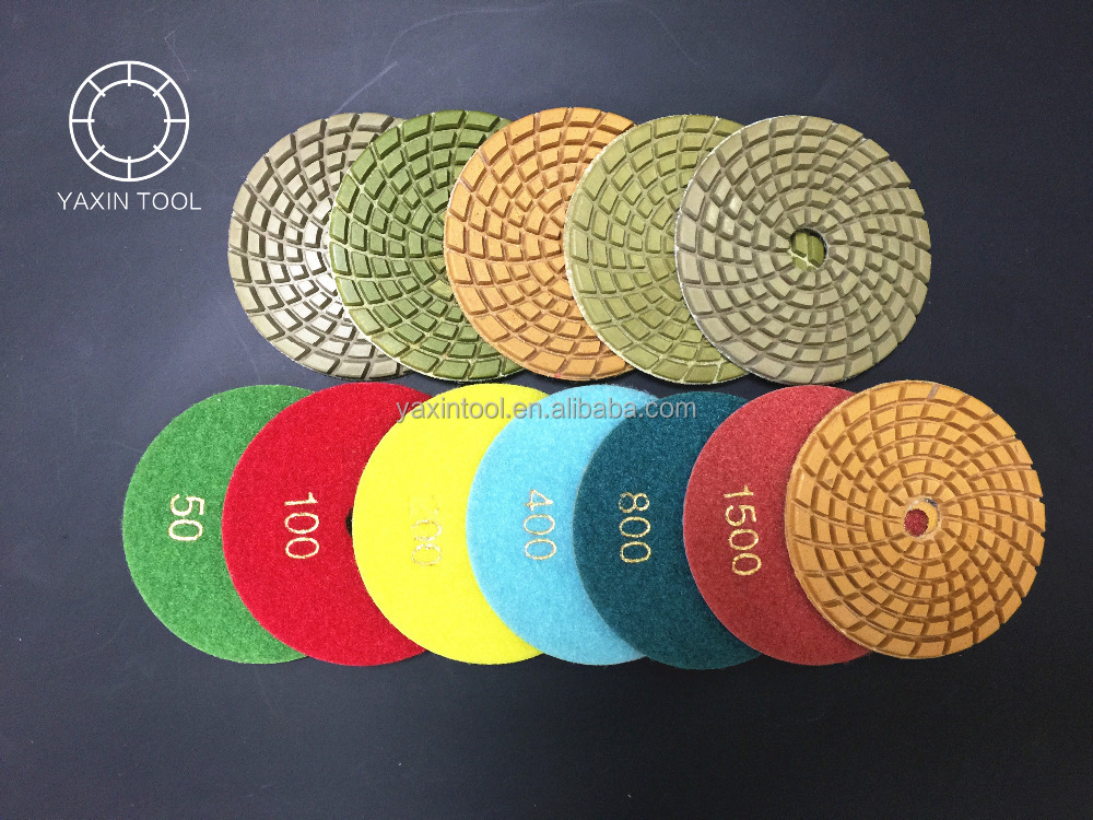 Hizar hand polishing pad