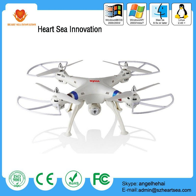 New venture big helicopterr with wifi camera syma x8 x8c rc quadcopter