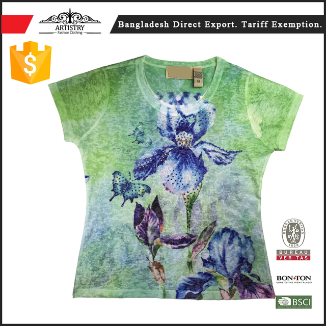 The best personized women t shirt with competitive price