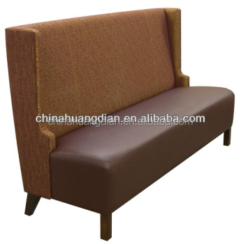 Bamboo Restaurant Furniture Fast Food Booth Seating
