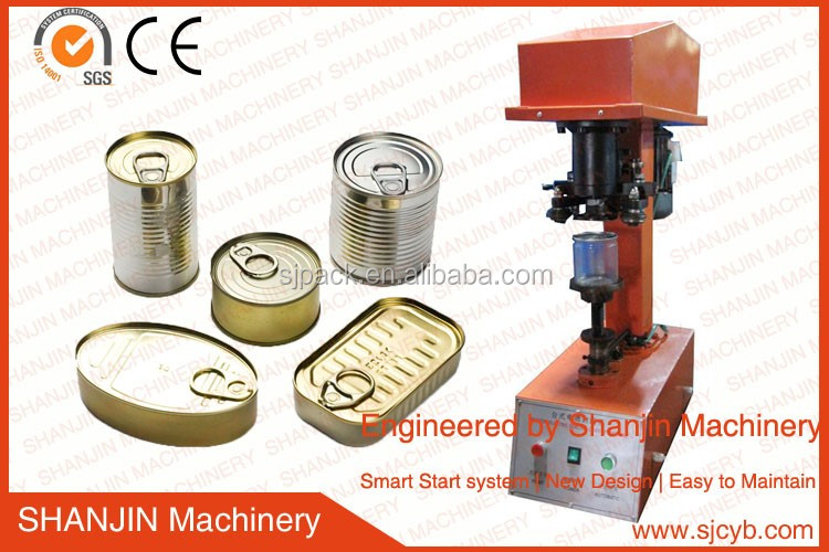 Manual Can Sealing Machine For Round Tin Can,Aluminum Can,Plastic ...