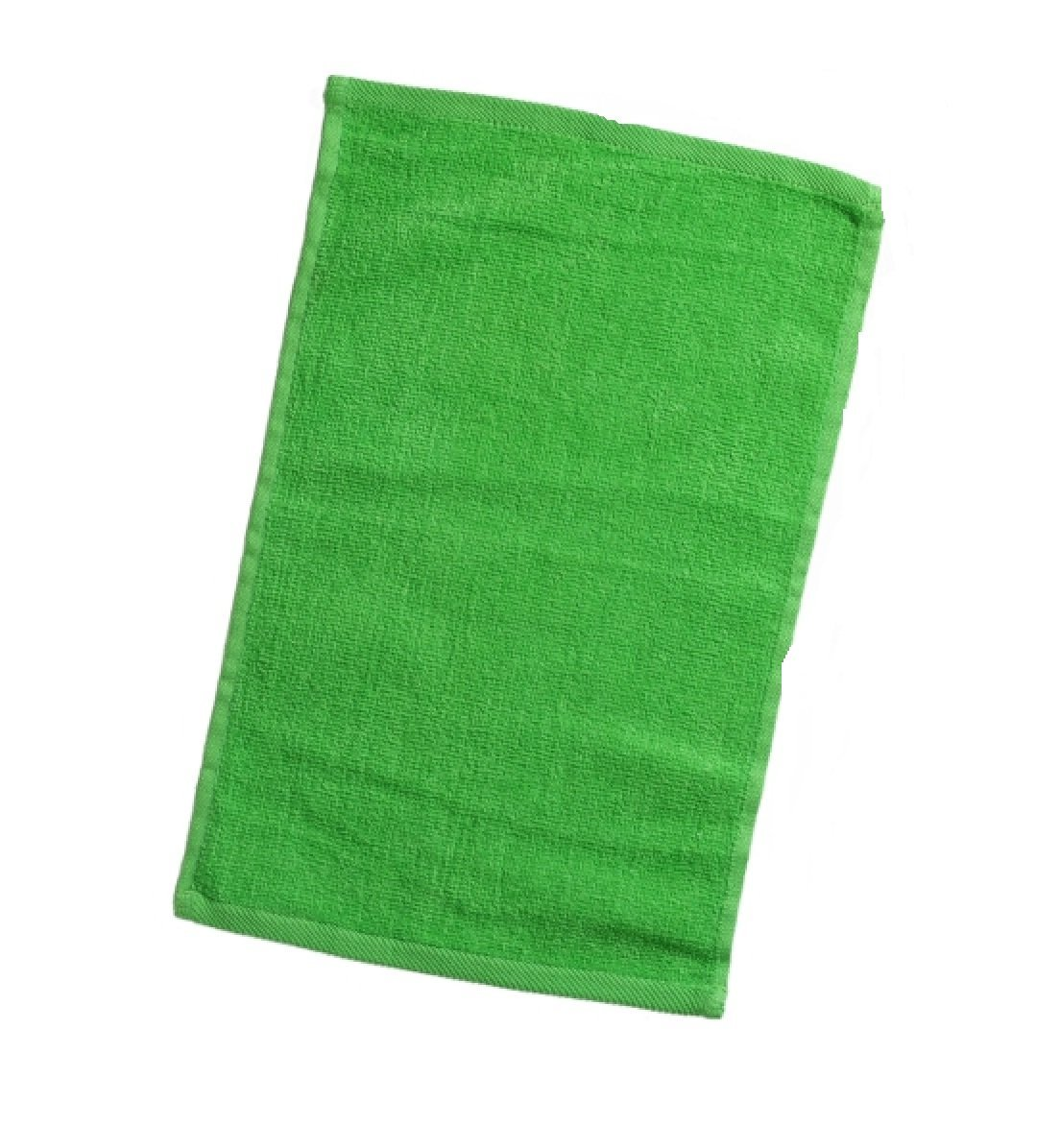 """LIME COLOR Terry Velour Hand Towels 100% Cotton, 11""""x18"""", Hemmed Fingertip Towel, Sport Towel Terry Velour Hemmed Towels by Georgiabags (6, LIME)"""